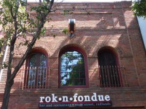 Redlands Conservancy Adaptive Reuse Winner Rok n Fondue - front facade